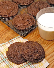Espresso Double-Chocolate Chunk Cookies, Recipe from The Martha ...