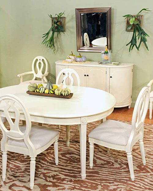 dining room decor martha stewart
