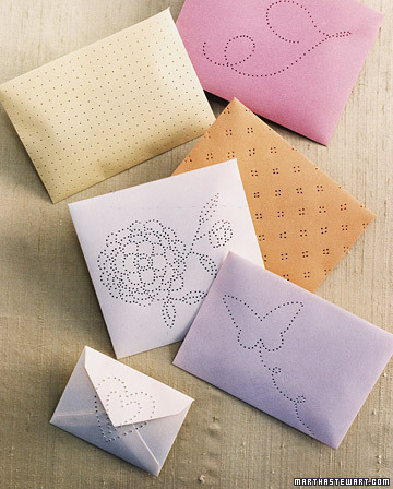 Envelope sachets martha stewart for Martha stewart butterfly template