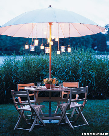 Create an Outdoor Chandelier
