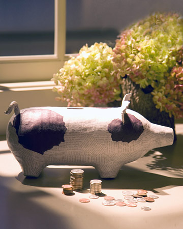Piggy bank step by step diy craft how to s and for Plastic bottle piggy bank craft