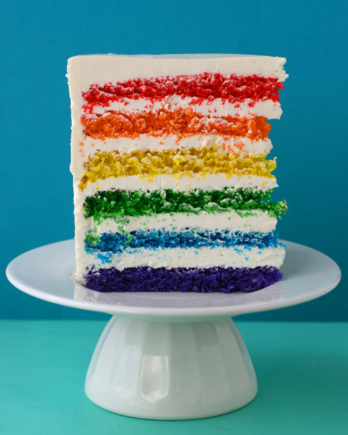 Rainbow Cake Icing Room