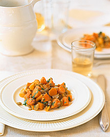 Warm Carrot and Lentil Salad, Recipe from Martha Stewart Living ...