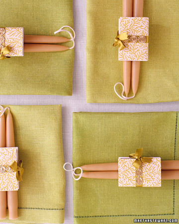Candle Favors Step By Step DIY Craft How To S And Instructions Martha St