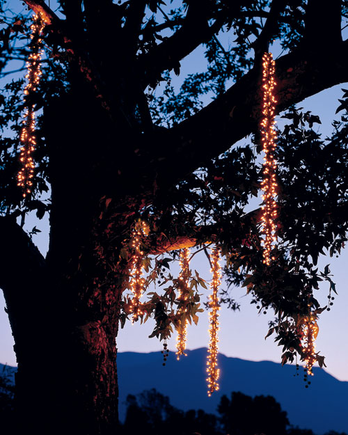 Outdoor Lighting Icicles Step By Step Diy Craft How