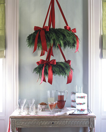 Christmas Craft Ideas  on Christmas  Christmas Decorating Ideas   Martha Stewart