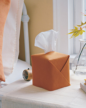 Felt Tissue-Box Holder