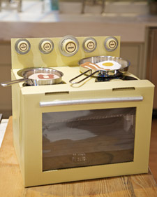 Cardboard-Box Oven Craft by Martha Stewart