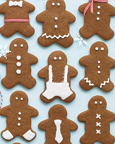 Gingerbread People. Recipe from Everyday Food