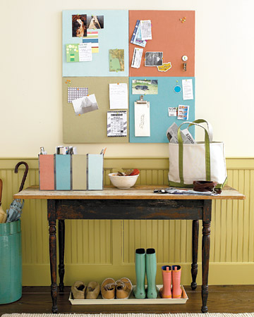 Organizing: Entryway Organizing Ideas - Martha Stewart