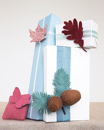 Gift Topper Leaf