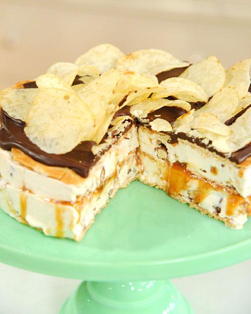 Jimmy Fallon's Late Night Snack Ice Cream Cake