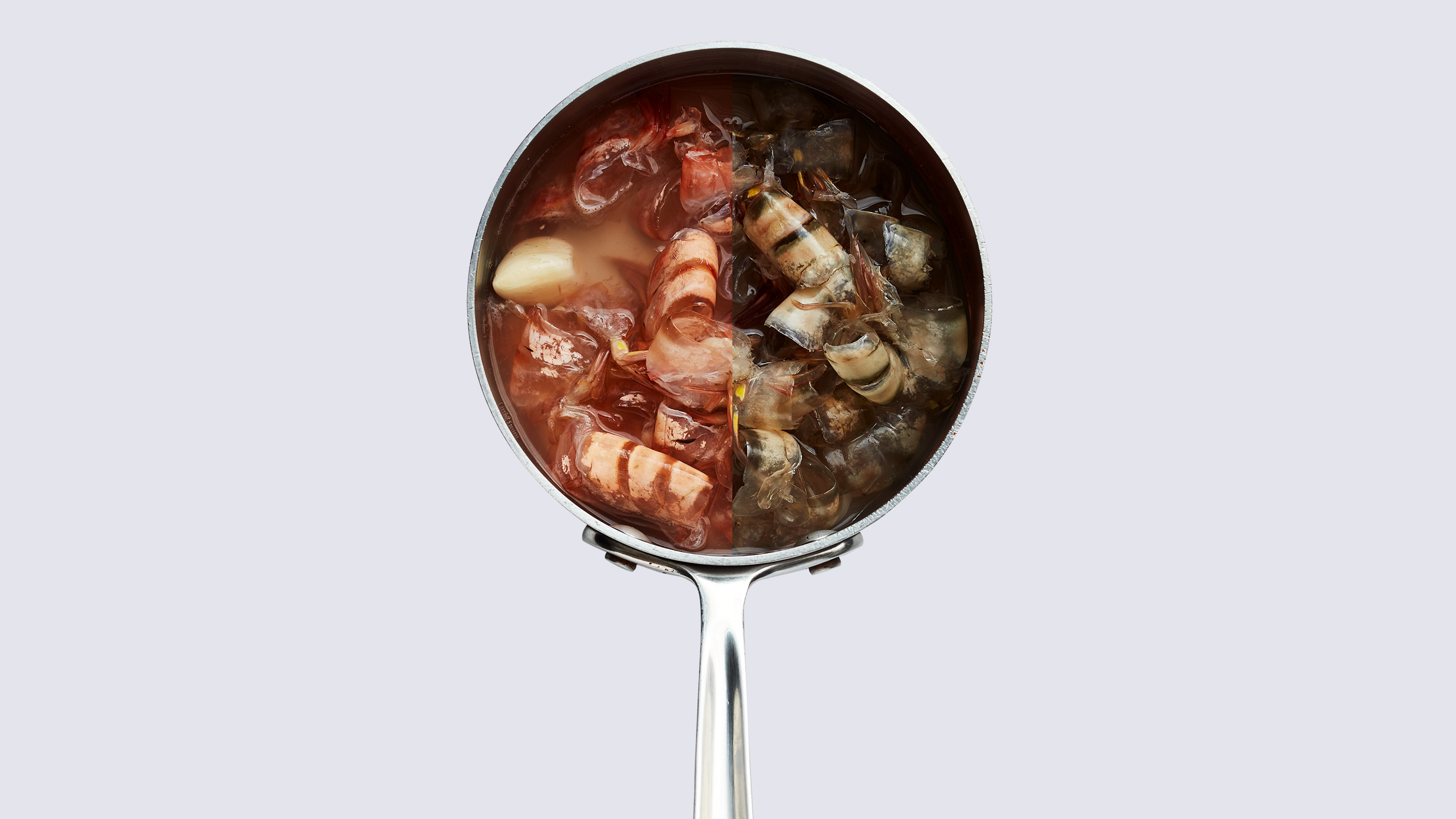 Quick, Concentrated Shrimp Stock