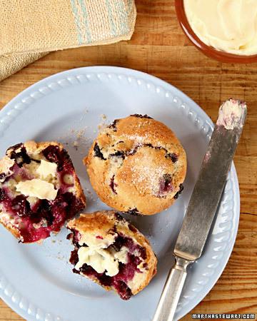 Martha Stewart Blueberry Flax Pancakes