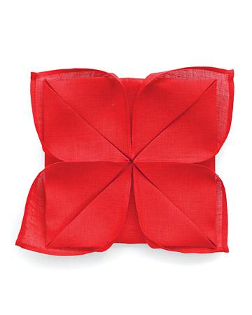Lotus Napkin Fold