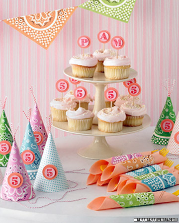 Kids' Birthday Parties | How To and Instructions | Martha Stewart
