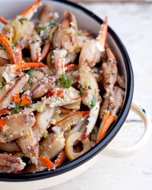 Marinated Blue Crab Claws