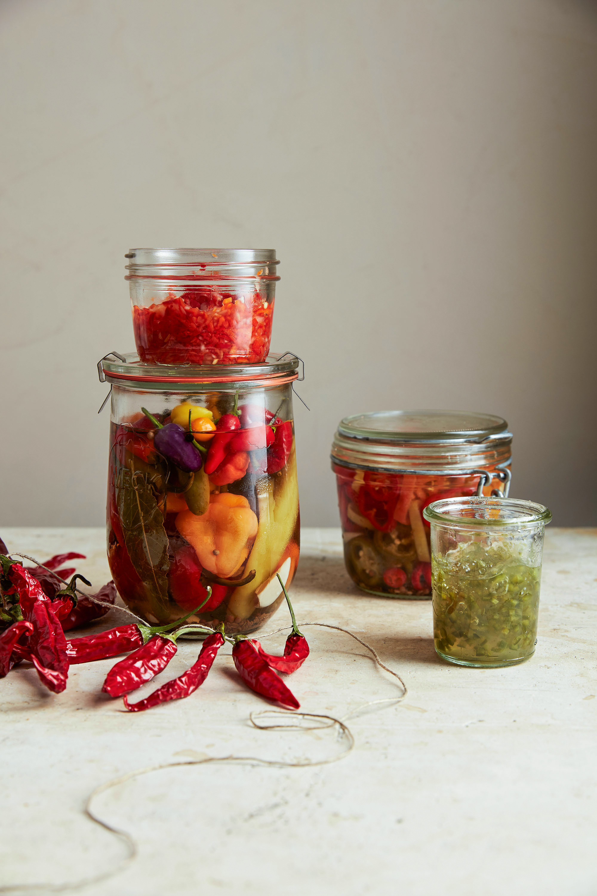 Hot Red-Pepper Relish
