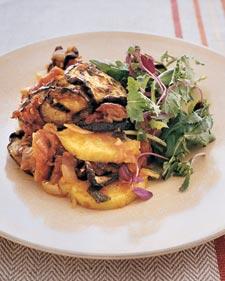 Eggplant Polenta from Martha Stewart