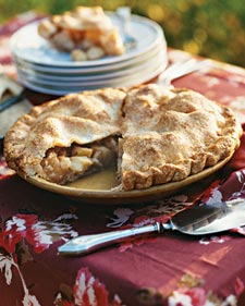 Antique Apple Pie, Recipe from Martha Stewart Living, October 2008