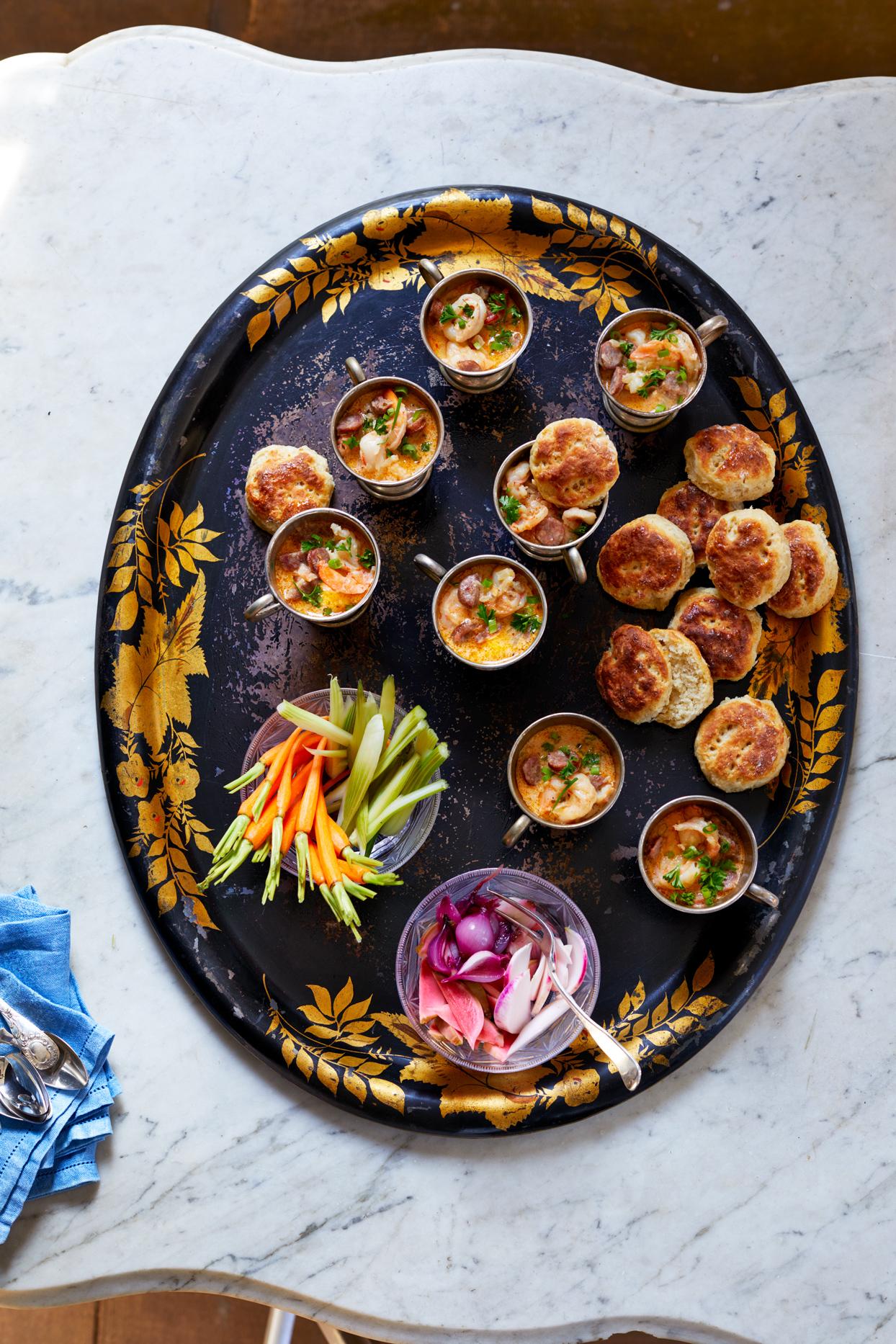 Smoky Shrimp-and-Sausage Gravy