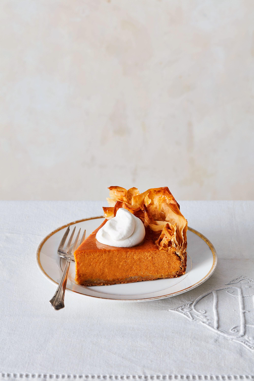 Five-Spice Pumpkin Pie with Phyllo Crust Greg Lofts