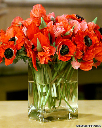 Red Floral Arrangements