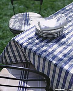 Nice Laminated Tablecloth