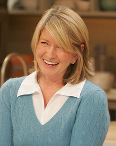 The Martha Stewart Look Book: Hairstyles