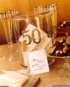 Celebrating Wedding Anniversaries: Gold | Martha Stewart