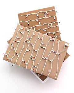 Nice Storing Christmas Lights Idea