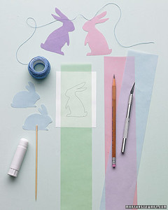 Easter Bunny Template Projects | Martha Stewart