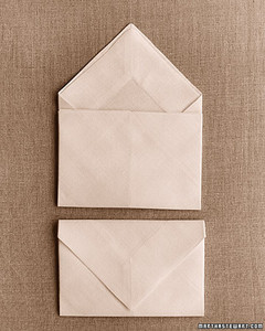 Napkin-Folding Ideas