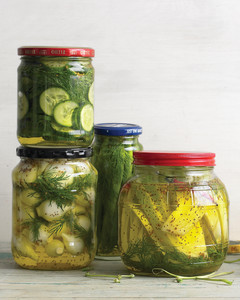 Pickle and Preserved Vegetable Recipes