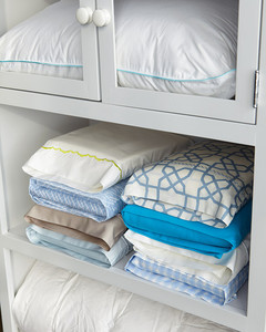 How To Keep Matching Sheets Together In The Closet Martha Stewart