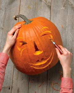 Funny Face Pumpkins Martha Stewart