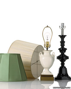 Lampshades for every shape martha stewart lampshades for every shape aloadofball Choice Image