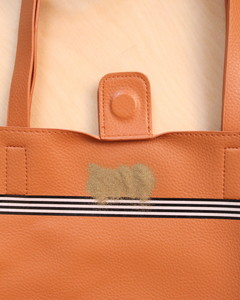 Embossed Monogram Tote Step 3
