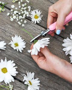 diy floral monogram step 2