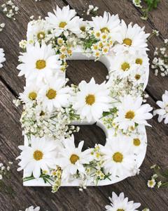 diy floral monogram step 4