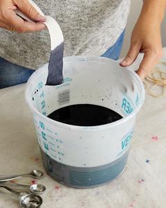 dyeing a duvet bedding set