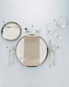 Formal Table Setting  sc 1 st  Martha Stewart : formal table setting images - pezcame.com
