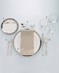 Formal Table Setting  sc 1 st  Martha Stewart & Formal Table Setting | Martha Stewart
