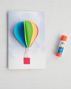 Up Up and Away Party Invitation tutorial
