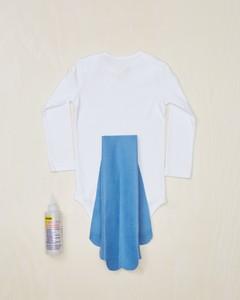 bluebird costume how-to step