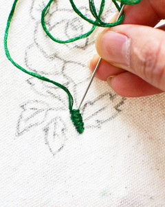 make your own embroidery patch flats step 3