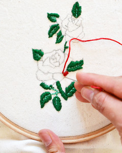 make your own embroidery patch flats step 5