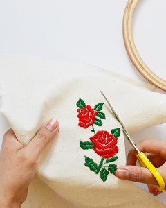 make your own embroidery patch flats step 6