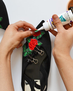 make your own embroidery patch flats step 9