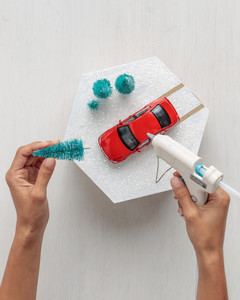 MS crafts car topper
